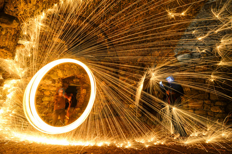 steelwool spinning
